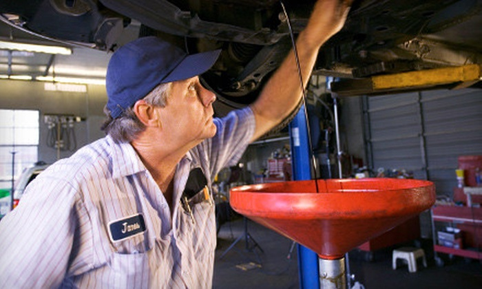 B&A Automotive - Springfield: One or Four Oil Changes with Inspections at B&A Automotive in Springfield (Up to 63% Off)