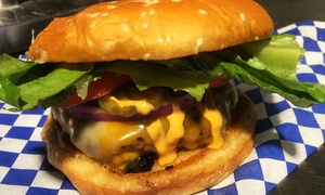 Cowabunga Burgers: $149 for One Burger with Chips and a Drink, Every Week, for a Year at Cowabunga Burgers ($520 Value)