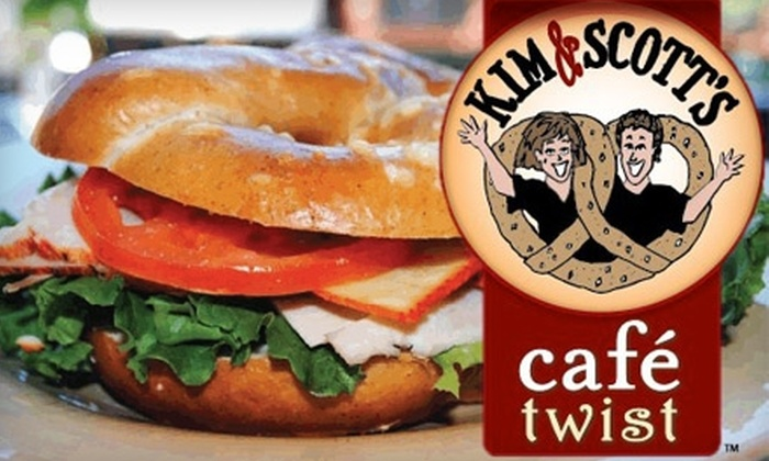 Kim & Scott's Café Twist - Lincoln Park: $7 for $15 Worth of Gourmet Pretzels and Pretzel Sandwiches at Kim & Scott's Café Twist