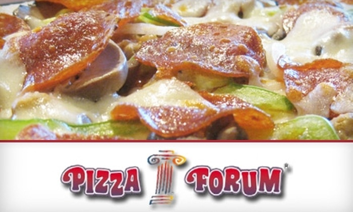 Pizza Forum - Fort Wayne: $10 for $20 Worth of Pizza, Pasta, and More at Pizza Forum