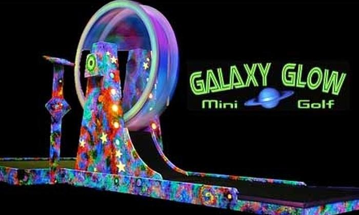 Galaxy Glow Mini Golf - N.A.S.: $7 For Two Adult Tickets At Galaxy Glow Mini Golf ($14 Value)