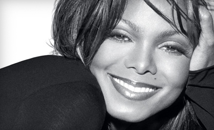 Live Nation: Janet Jackson at the PNC Bank Arts Center on Sat., Aug. 6 at 9PM: Sections 401-405 - Janet Jackson at the PNC Bank Arts Center in Holmdel