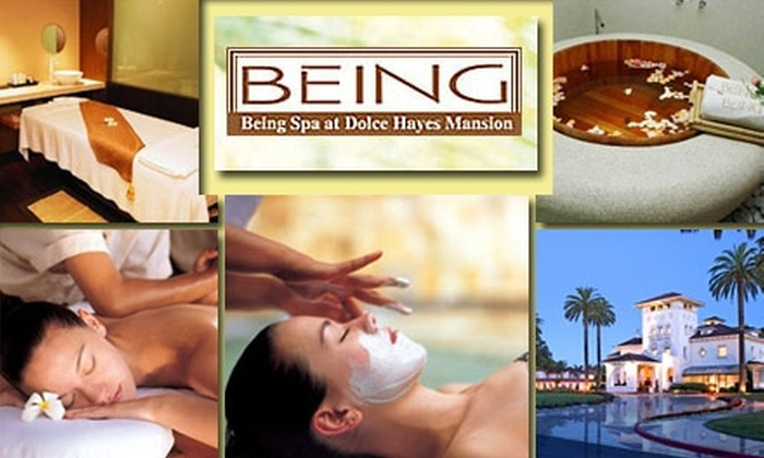 Being Spa at Dolce Hayes Mansion - Edenvale: $30 for $60 Worth of Services and Two Passes at Being Spa at Dolce Hayes Mansion