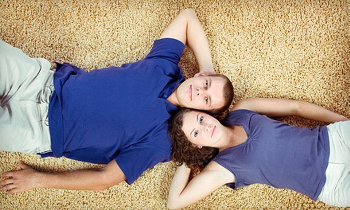 Green Tee Services - Chicago: Carpet Cleaning for an Entire House or Three Rooms and a Hallway from Green Tee Windows (Up to 65% Off)