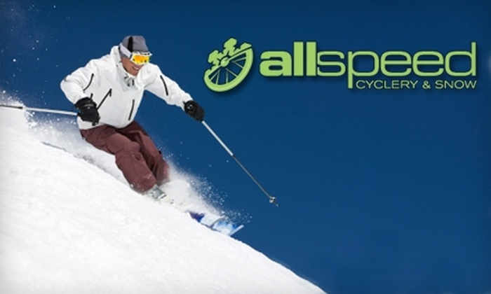 Allspeed Cyclery & Snow - North Deering: $12 for a Basic Ski Tune-Up at Allspeed Cyclery & Snow ($30 Value)
