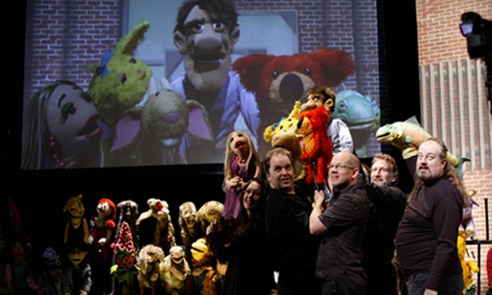 """Henson Alternative's Stuffed and Unstrung - Rogers Seabreeze: One Ticket to See """"Stuffed and Unstrung"""" at The Peabody Auditorium on October 4 at 7:30 p.m. (Up to $47.60 Value)"""