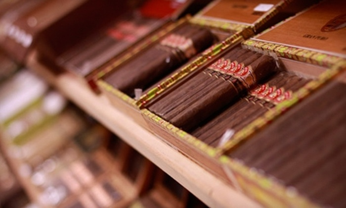 Jake's Cigar Bar & Lounge - Brannon Crossing: $10 for $20 Worth of Gourmet Cigars and Drinks at Jake's Cigar Bar & Lounge in Nicholasville