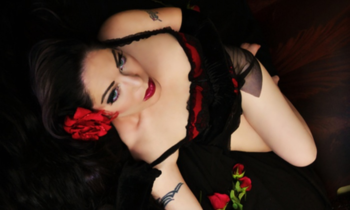 Spoil Me Silly - Buffalo: Boudoir Taster or Deluxe Photo-Shoot Package with Styling and Digital-Image CD at Spoil Me Silly (Up to 52% Off)