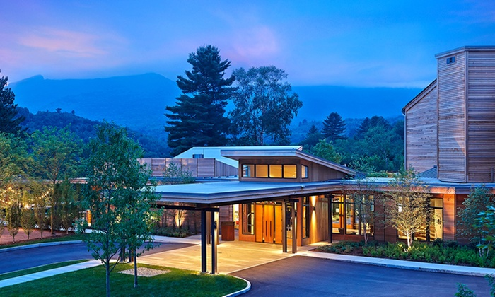 Resort near Vermont's Mount Mansfield