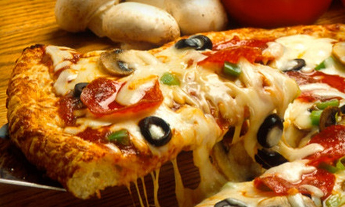 JoJo's Pizza Kitchen - Multiple Locations: $24 for a Pizza Meal Including Spaghetti, Breadsticks, and Beer, Wine, or Soda at Jojo's Pizza Kitchen (Up to $45.30 Value)