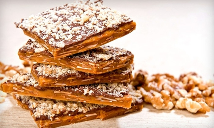 The Toffee Box: $10 for $20 Worth of Toffee at The Toffee Box