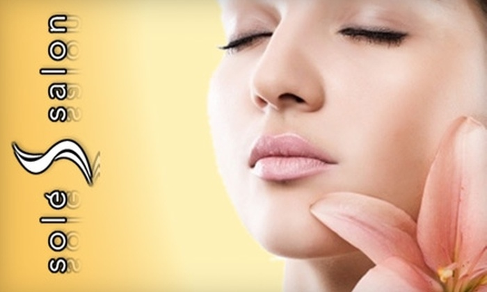 Solé Salon and Spa - Emeryville: $49 for a Sixty-Minute Customizable Facial from Solé Salon and Spa ($105 Value)