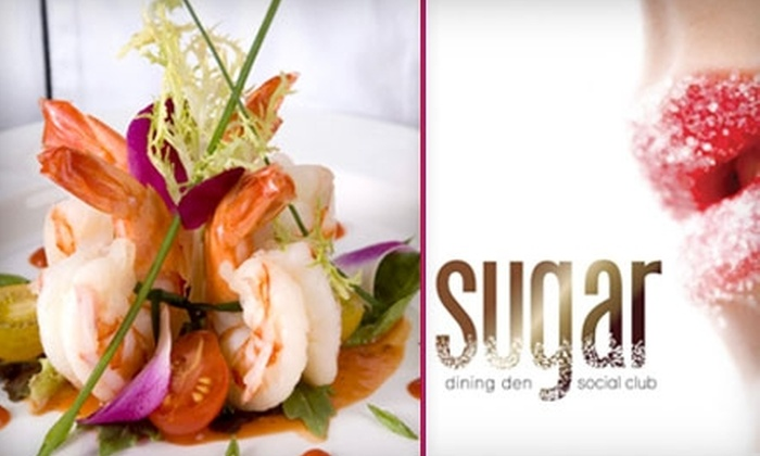 Sugar Dining Den and Social Club - Mineola: $20 for $40 Worth of Small-Plate Fare and Drinks at Sugar Dining Den and Social Club in Carle Place
