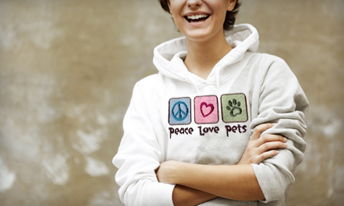 Eclectic Creations LLC - Boaz: $15 for $30 Worth of Custom Printed or Embroidered T-Shirts, Hoodies, and Pet Gear at Eclectic Creations LLC in Boaz