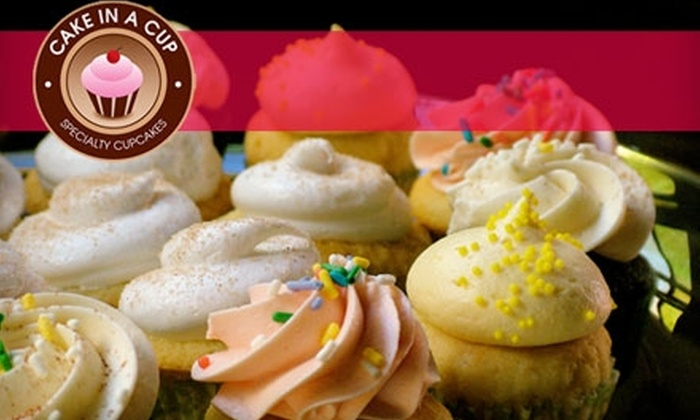 Cake in a Cup - Sylvania: $7 Box of Six Specialty Cupcakes from Cake in a Cup
