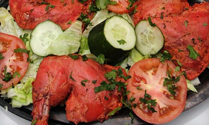 Sizzling Tandoor Indian Restaurant - Santa Rosa: Three-Course Dinner for Two or Four or Lunch Buffet for Two at Sizzling Tandoor Indian Restaurant
