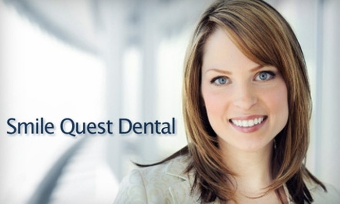 Smile Quest Dental - Sacramento: Dental Exam and Cleaning or Whitening Services. Choose from Three Options.