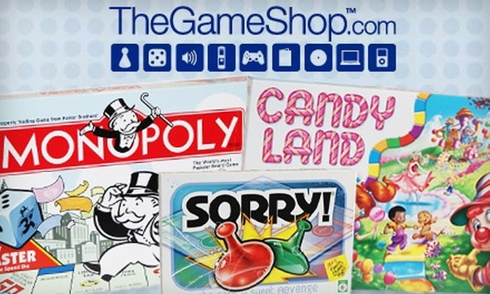 TheGameShop.com: $10 for $25 Worth of Board Games, Party Games, and More from TheGameShop.com