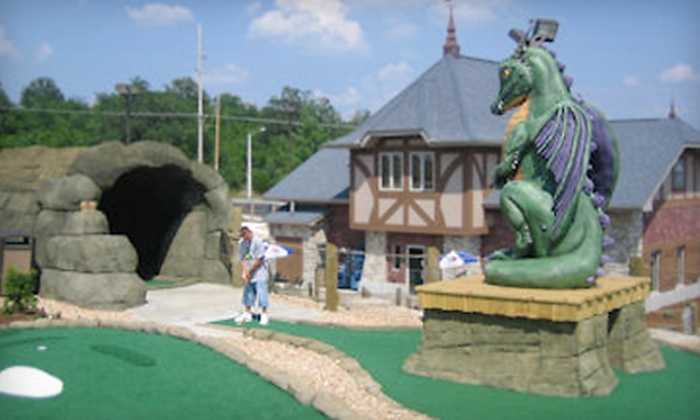 Greatest Adventures Mini Golf - Branson: $19 for Mini Golf Outing for Two at Greatest Adventures Mini Golf in Branson (Up to $37.94 Value)