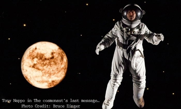 "Canadian Stage - Downtown Toronto: $34 for One Ticket to ""The Cosmonaut's Last Message to the Woman He Once Loved in the Former Soviet Union"" at St. Lawrence Centre for the Arts (Up to $99 Value). Sixteen Showtimes Available."