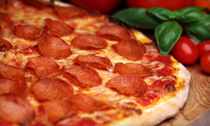 Gourmet Pizza Company - Courier City/Oscawana: $10 for $20 Worth of Pizza Creations and More for Dinner at Gourmet Pizza Company