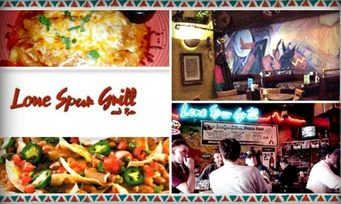 Lone Spur Grill And Bar - Minnetonka - Hopkins: $10 for $25 Worth of Tex-Mex Fare and Drinks at Lone Spur Grill and Bar
