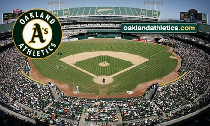 Oakland A's - Coliseum Industrial Complex: $13 for One Field-Level Ticket to an Oakland Athletics Game ($26 Value). Choose from Three Dates.