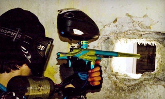 Blastcamp Paintball - Blastcamp Paintball & Airsoft: Paintball Outing for Two, Four, or Eight at Blastcamp Paintball in Hobart (Up to 70% Off)