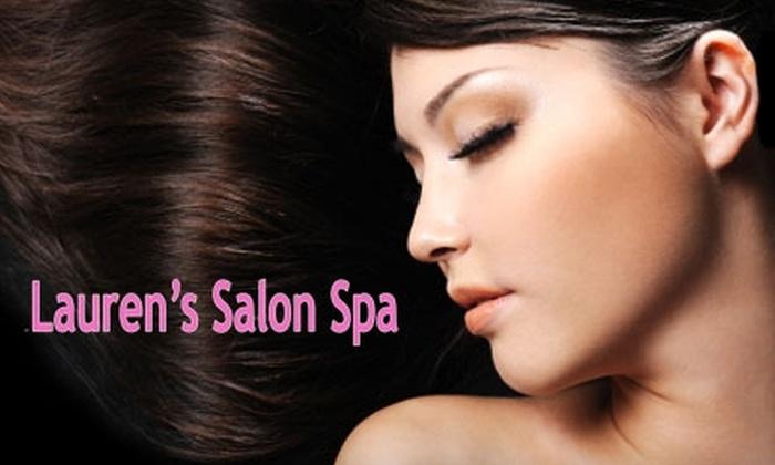 Lauren's Salon Spa - Mid-City West: $40 for $90 Worth of Hair Services at Lauren's Salon Spa