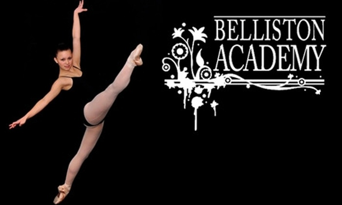 Belliston Academy of Ballet and Dance - Multiple Locations: $65 for Two Months of Classes Plus Tuition and Registration at Belliston Academy of Ballet and Belliston Centre of Dance ($145 Value)