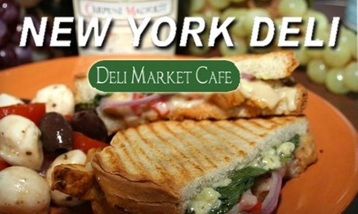 New York Deli - Grand Chute: $5 for $10 Worth of Sandwiches, Soups, and Salads