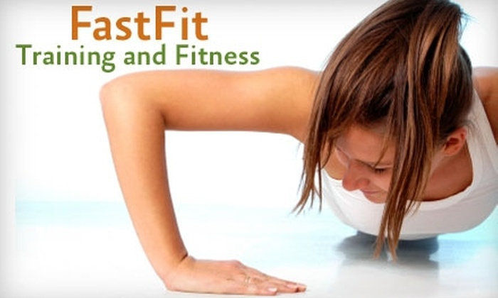 FastFit Training & Fitness - Multiple Locations: $20 for One Month of Unlimited Bootcamp at FastFit Training &  Fitness