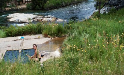 All-Day Hot Springs Access for Two or Four and Food Voucher at Mono Hot Springs Resort (Up to 59% Off)