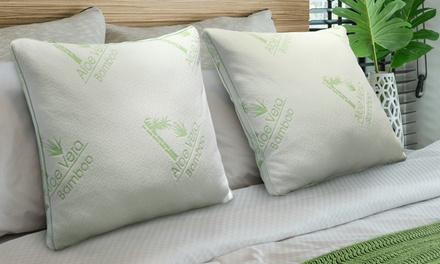 Oreillers Bambou&Aloe Vera