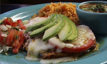 Mexican Dinner for 2 or 4, Valid Any Day or Sunday–Thursday at Matamoros Restaurante Y Cantina (Up to 50% Off)