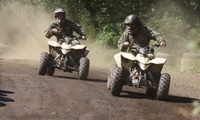 Track or Trail Quad Biking for Up to Three at Quad Challenge (40% Off)