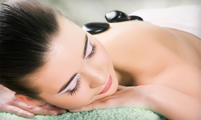 Merle Norman Luxe Spa & Salon - Fort Wayne: Hot-Stone Massage for One or Two at Merle Norman Luxe Spa & Salon (Up to 52% Off)