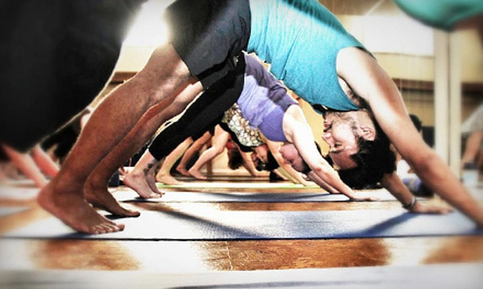 Moksha Yoga Winnipeg - Buffalo: $59 for Two Months of Unlimited Classes at Moshka Yoga Winnipeg (Up to $300 Value). Two Locations Available.