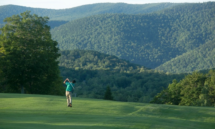 Killington Resort - Killington Vermont: 18 Holes of Golf with Cart Rental and Lunch for Two or Four at Killington Resort (Up to 50% Off)