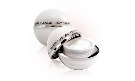 Brilliance New York White Diamond Face Cream; 1.69 Fl. Oz.