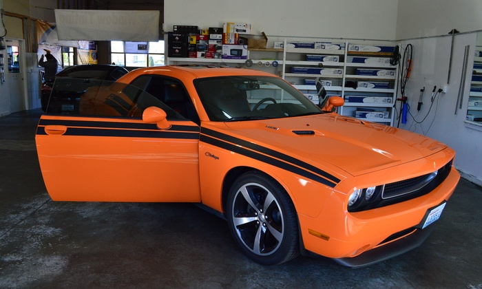 Magicautosound - Federal Way: Window Tinting for a Four-Door Car from Magic Auto Sound (45% Off)