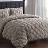 Embossed Microfiber Duvet Cover Set (2- or 3-Piece)