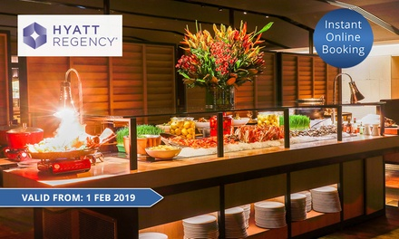 Signature Dinner Table for Two ($89) or Four People ($175) at The Sailmaker Hyatt Regency (Up to $260 Value)
