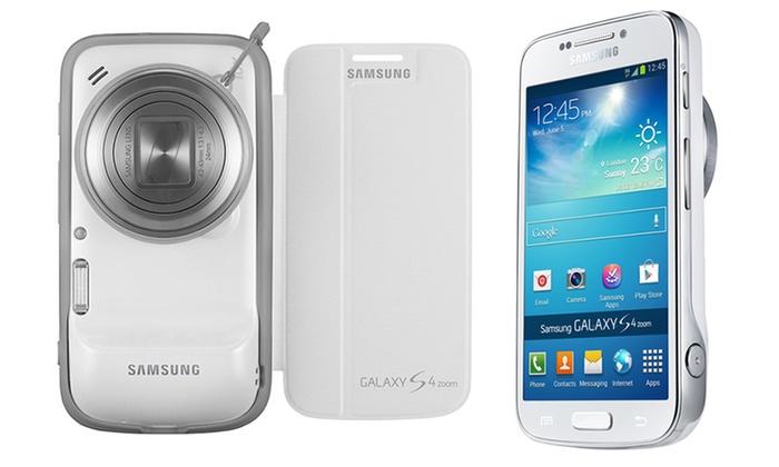 Samsung Galaxy S4 Zoom 16MP GSM Unlocked Smartphone/Camera Bundle: Samsung Galaxy S4 Zoom 16MP GSM Unlocked Smartphone/Camera with Accessories Bundle. Free Returns.