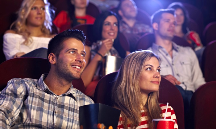 RiverWalk Movies - Jenks: Movie Tickets and Large Popcorn for Two or Four at RiverWalk Movies (Up to 47% Off)