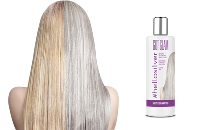 One, Two or Three Got Glam Silver Shampoos