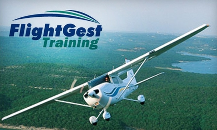 FlightGest - Morrisville: $100 for One-Hour Flight Lesson (a $210 Value) at FlightGest, Inc.
