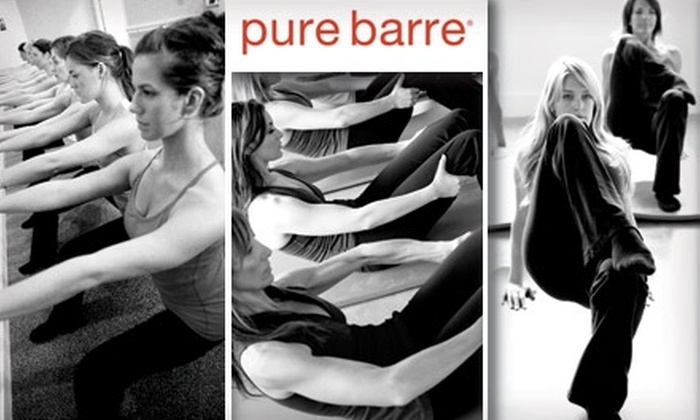 Pure Barre - West Los Angeles: $20 for Two Body-Toning, Fat-Burning Workout Classes at Pure Barre ($50 Value)