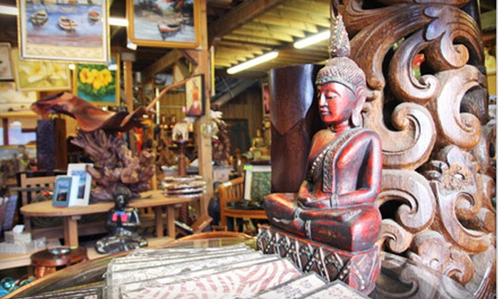 Bali Boo - Kailua: Indonesian and Hawaiian Furniture and Décor at Bali Boo in Kailua (Up to 55% Off). Three Options Available.