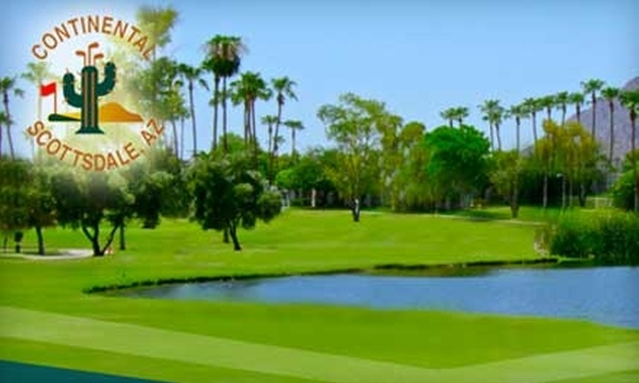 Continental Golf Course - Downtown Scottsdale: $35 for a One-Month Player Development Program Membership and One Round of Golf at Continental Golf Club ($64 Value)